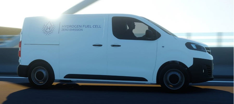 Faurecia Supports Stellantis For Hydrogen Powered Light Commercial Vehicles 1