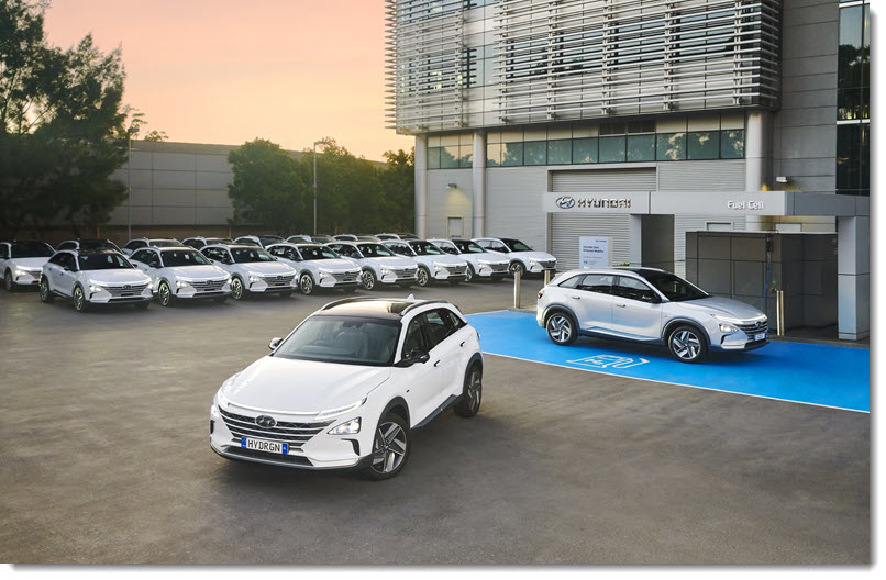 Fuel cells works, First Hydrogen Car Fleet Registered in Australia, With 20 Hyundai Nexo SUV's Set to Hit Act Roads