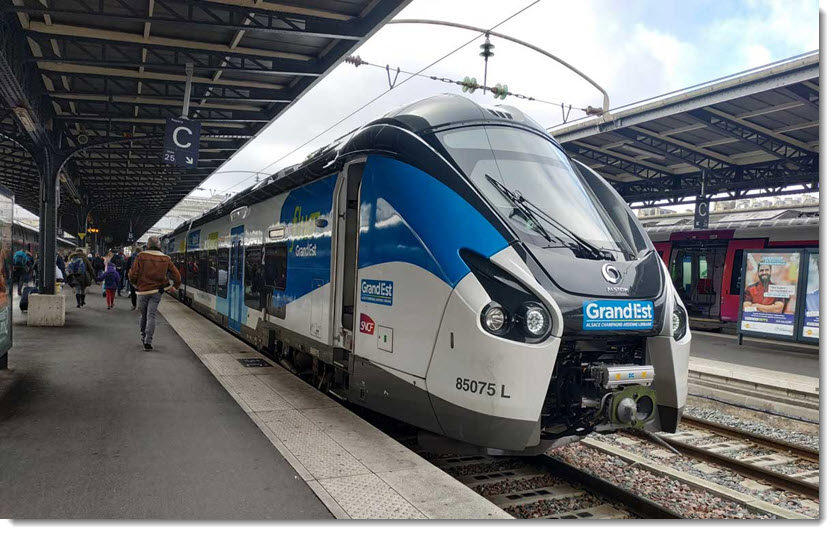 Grand Est Region Makes the Arrival of Hydrogen Trains a Reality