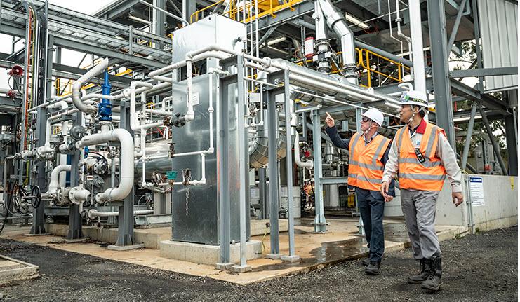 fuelcellsworks, HESC Celebrates Hydrogen Production Milestone