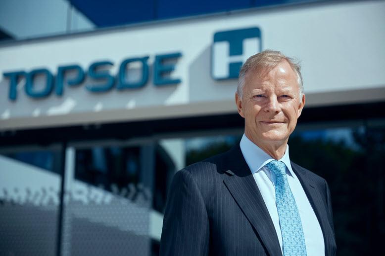Haldor Topsoe CEO Roeland Baan.