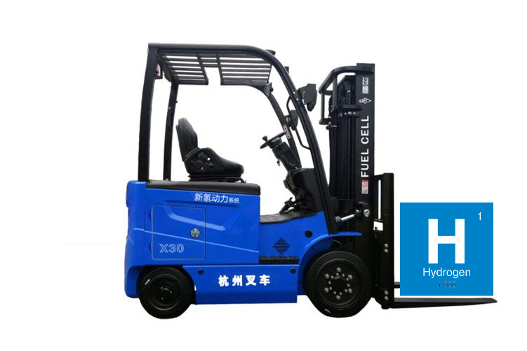 Hangcha Group Receives Large Order for Hydrogen Fuel Cell Forklifts
