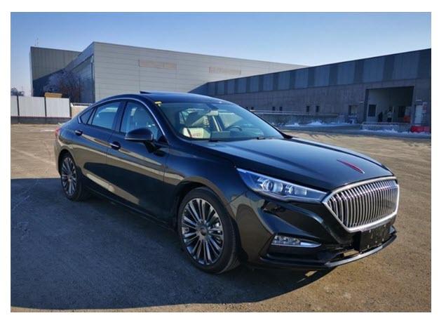 Hongqi H5 Hydrogen Fuel Vehicle Unveiled