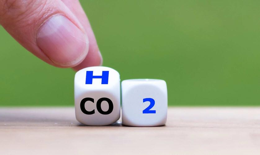 Hydrogen CO2 1