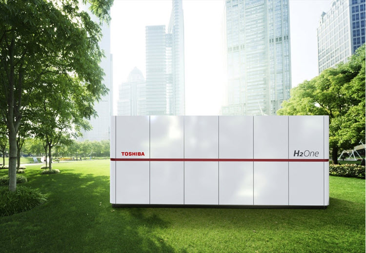 Hydrogen Energy Supply System H2One Receives the Iwatani Naoji Memorial Award