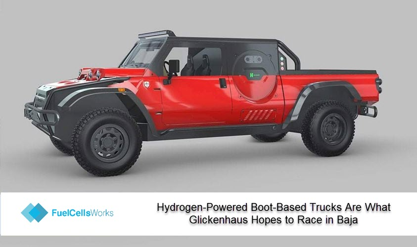 Hydrogen Powered Boot Based Trucks Are What Glickenhaus Hopes to Race in Baja
