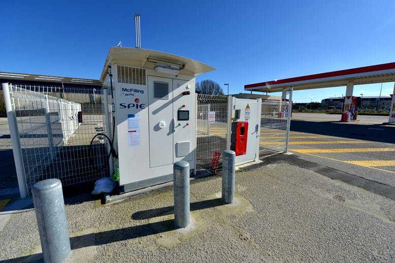 Hydrogen Station in Cherbourg en Cotentin Open for City Only