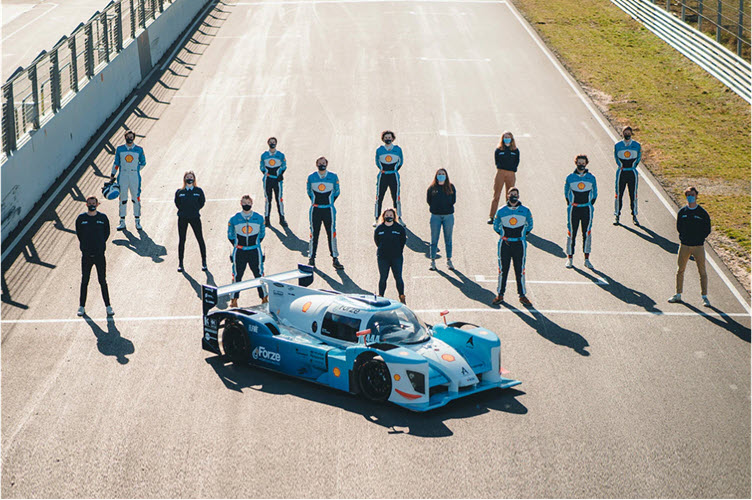 Hyundai Motor Partners with Forze Hydrogen Racing