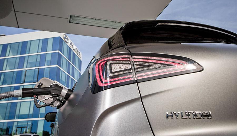 Fuel cells works, hydrogen, Hyundai motor