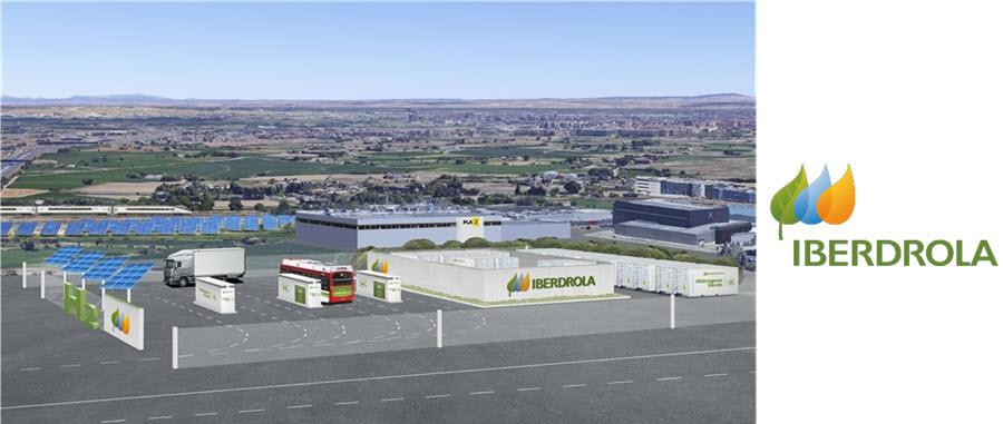 Fuel cells works, Iberdrola Mobilizes Aragón's First Green Hydrogen Generation Project for Heavy-Duty Transport in Zaragoza Area