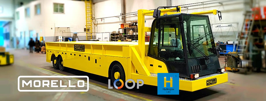 Fuel cells works, hydrogen, Loop Energy and Morello Launch Strategic Cooperation for the Development and Manufacture of Heavy-duty Hydrogen Electric Material Handling Equipment