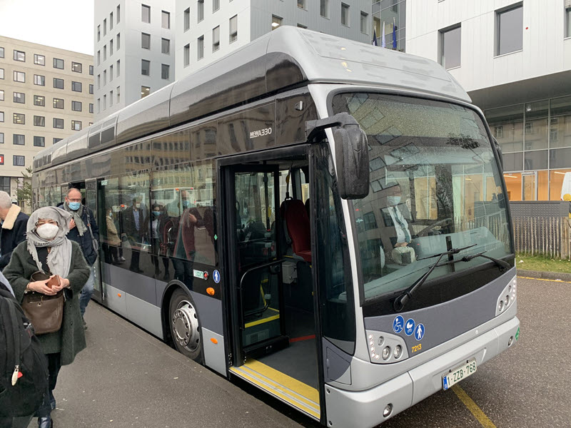 Fuel cells works, France: Metz Running Hydrogen Fuel Cell Bus Trial