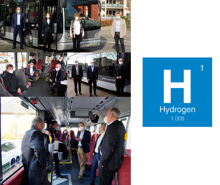 Fuel cells works, Münsterlandkkreis and RVM Test Hydrogen Buses