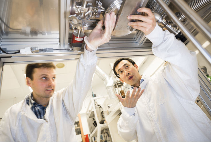 Fuel cells works, New Porous Material Promising for Making Hydrogen From Water