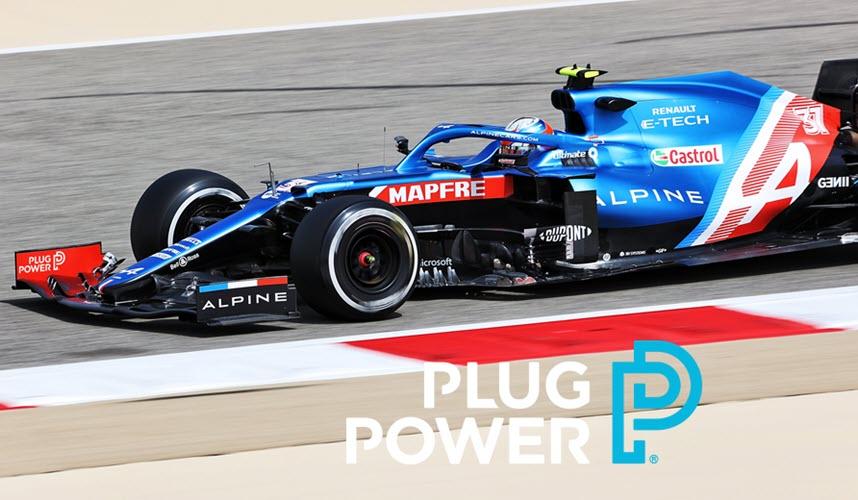fuelcellsworks, plug power, hydrogen, formula 1