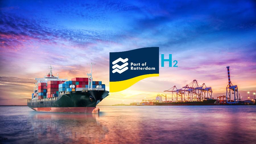 Port of Rotterdam H2
