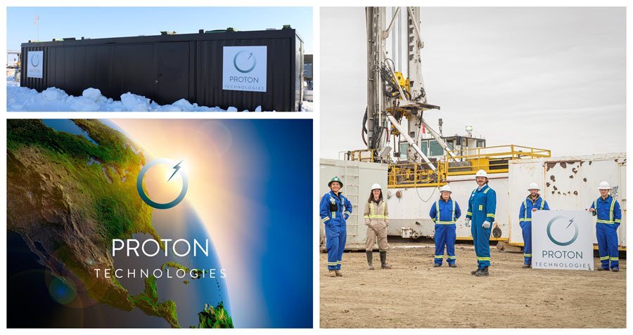 Fuel cells works, Big Hydrogen Production Plans of Proton Technologies