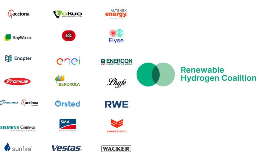 Fuel cells works, Renewable Hydrogen Coalition: Making Europe The Global Leader in Renewable Hydrogen
