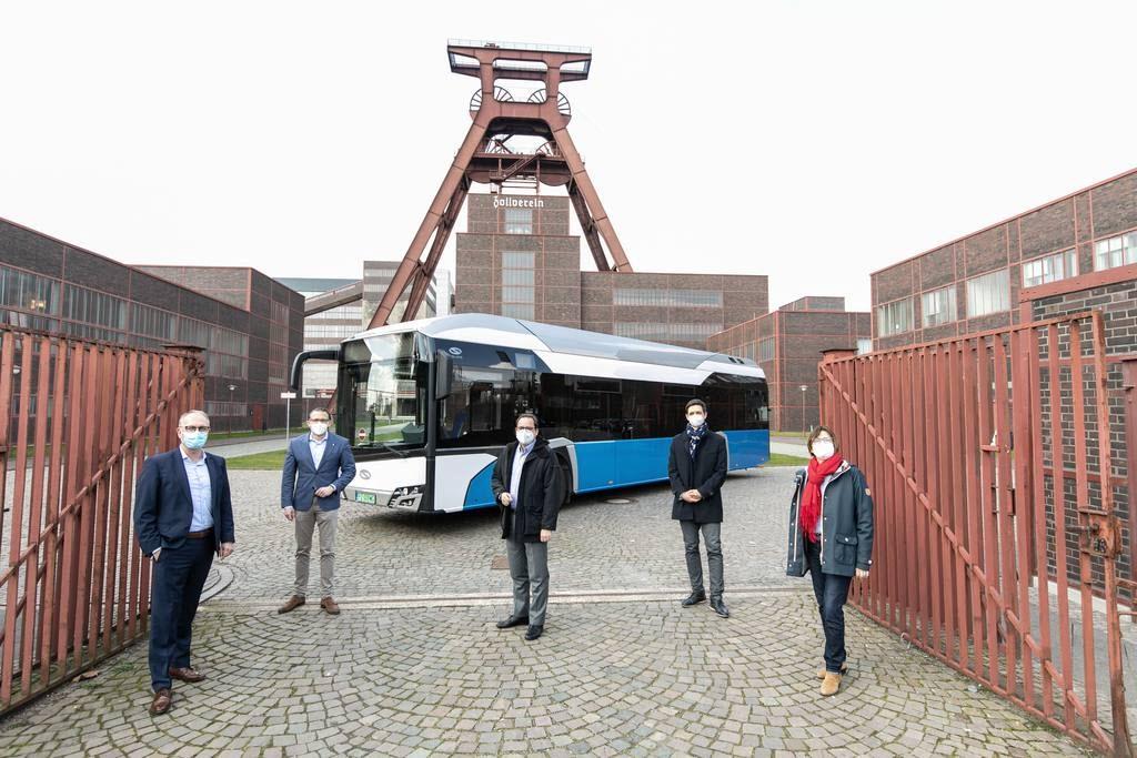 Ruhrbahn will Buy More Than 200 Hydrogen Buses for Essen