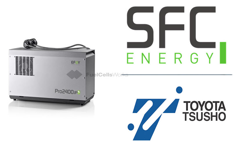 SFC Energy AG and Toyota Tsusho Corporation Sign Exclusive Sales and Partner Agreement for Hydrogen and Methanol Fuel Cells for the Japanese market