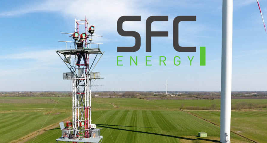 SFC Energy Fuel Cells Enable Sustainable Power Supply for Wind Lidar Systems