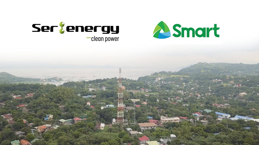 Smart Communications Inc. Smart to Power Cell Sites With Green Energy Through Fuel Cell Technology From SerEnergy