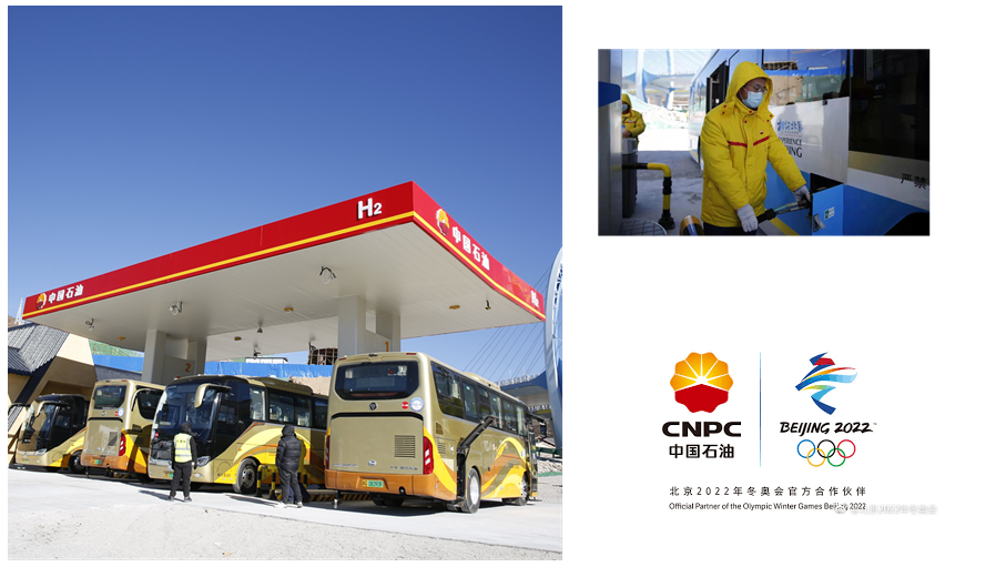 Fuel cells works, CNPC's First Hydrogen Station Fuels 2022 Winter Olympics