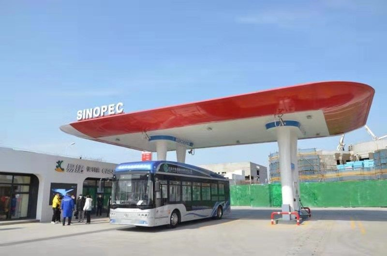 Fuel cells works, hydrogen, china, oil, Electricity Station, gas, fuel cells