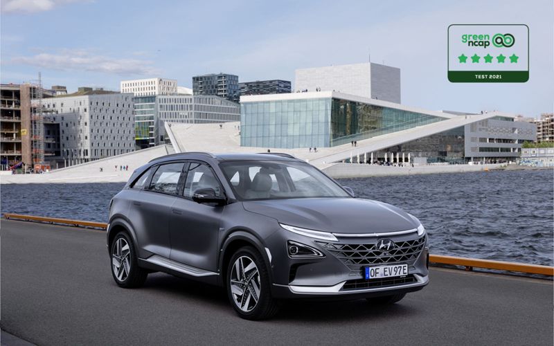 Fuel cells works, hydrogen, Hyundai Nexo, green NCAP, Fuel cells