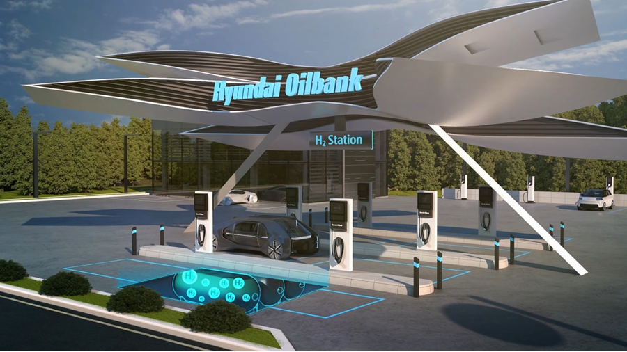 fuelcellsworks, Solar and Hydrogen Transition at Hyundai Oilbank Accelerates Through Blue Clean Campaign