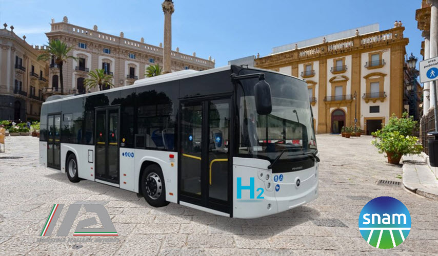 Snam and Industria Italiana Autobus Team up to Promote Hydrogen in Local Public Transport