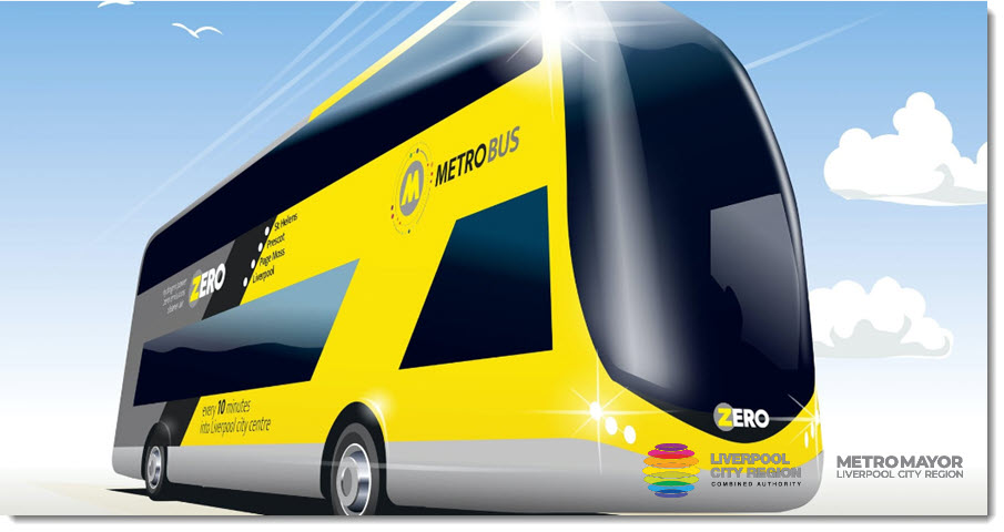 State of the art Zero emissions Hydrogen Buses Soon to Hit the Streets of Liverpool