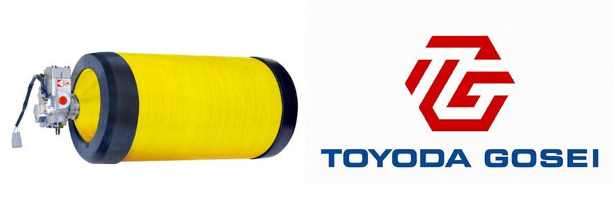Toyoda Gosei Receives Toyotas Technology Development Award for Development of High Pressure Hydrogen Tanks 2