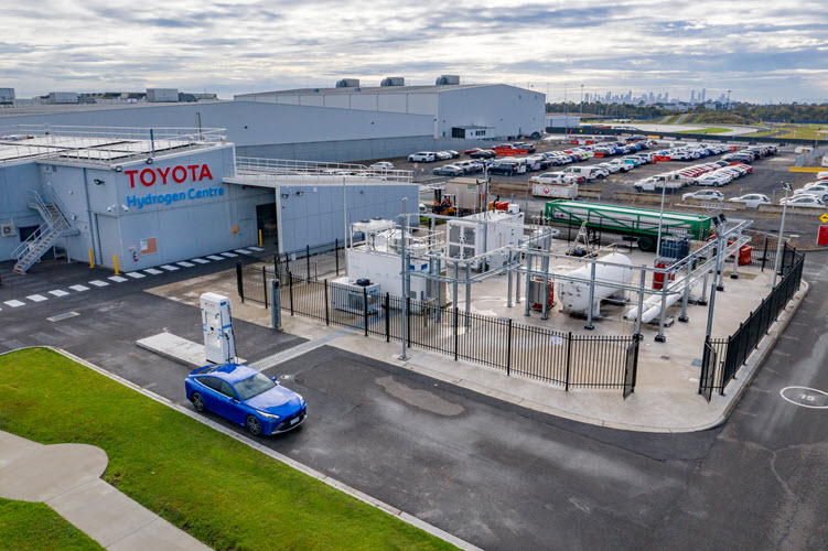 Toyota Unveils Victorias First Commercial Hydrogen Production and Re Fuelling Facility at Centre of