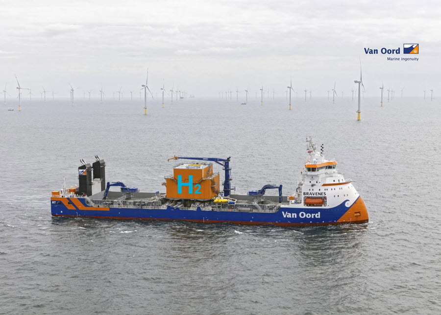 Van Oord Applies Innovative Technology to Further Reduce Fleet Emissions