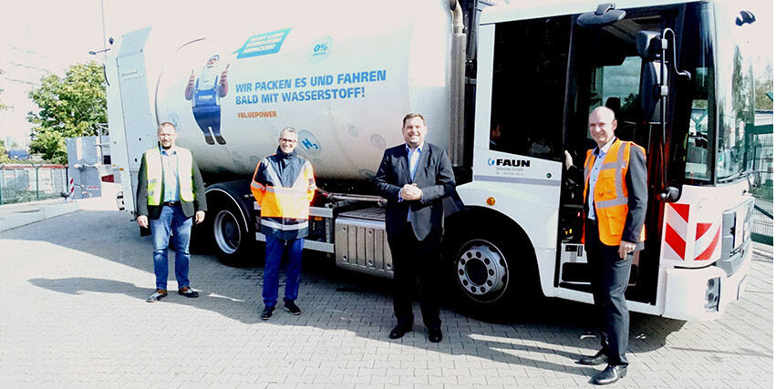 WBO Receives Federal Funding to Purchase a Hydrogen powered Garbage Truck in Oberhausen