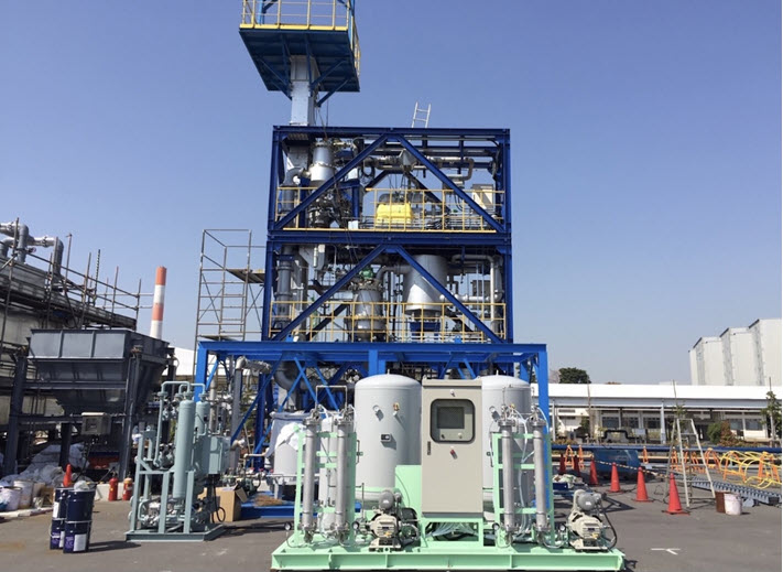 fuelcellsworks, Ways2H Shareholder Japan Blue Energy Launches Tokyo Renewable Hydrogen Production Facility