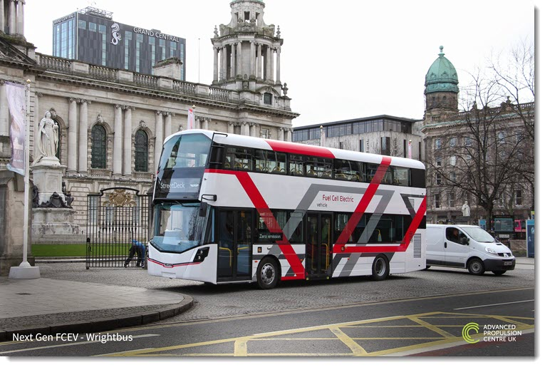 Wrightbus Awarded 11.2million to Develop Next Generation of Hydrogen Buses