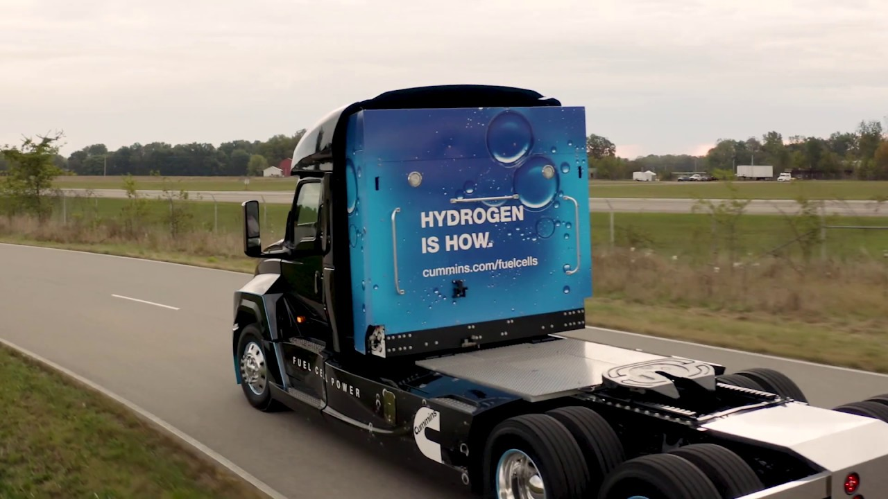 Fuel cells works, hydrogen, Is Fuel Cell Trucking Almost Here?, fuel cells