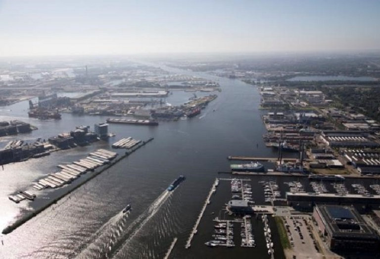 h2gate towards transhipment of 1 million tons of green hydrogen in the amsterdam port
