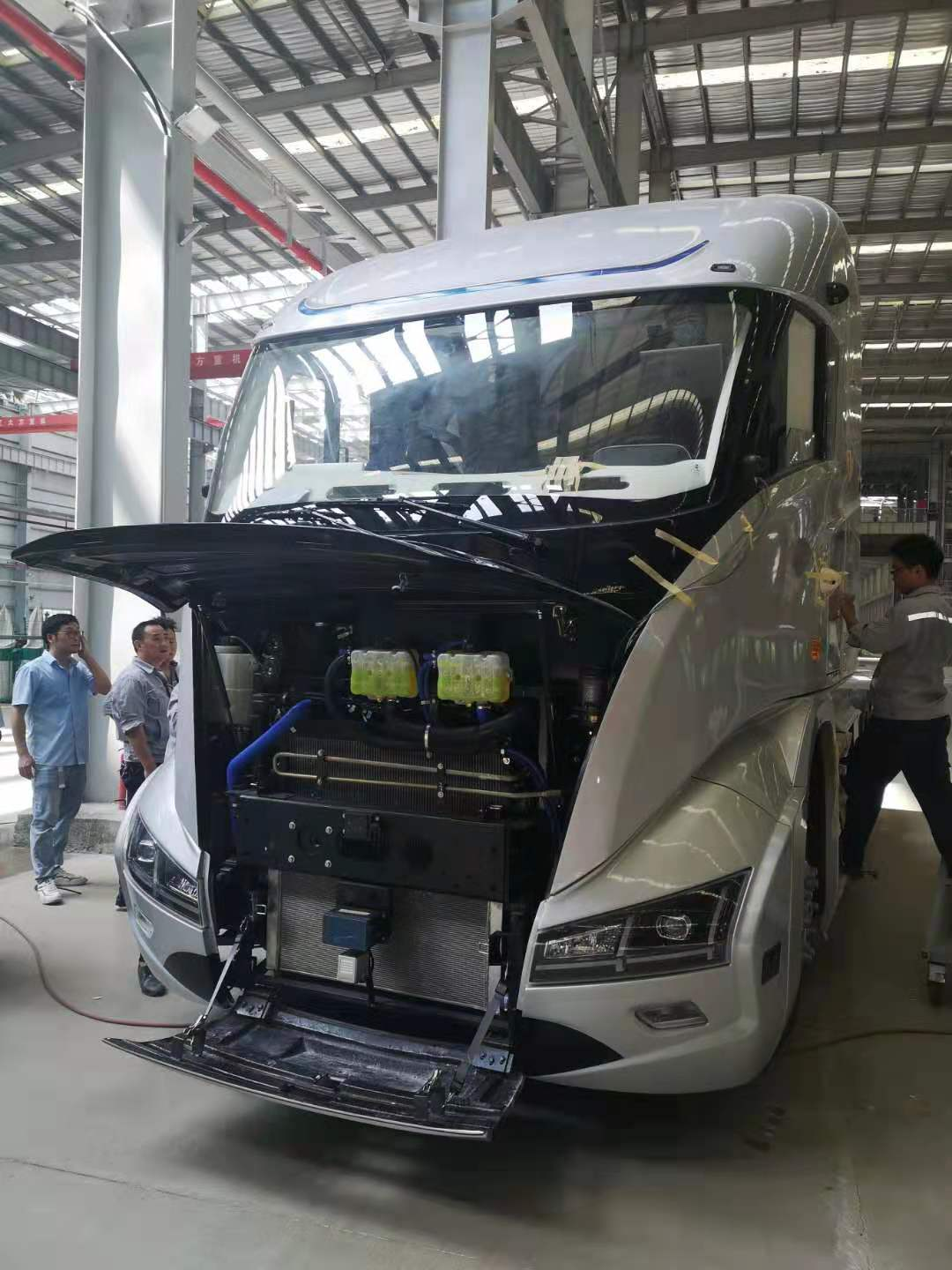 hydrogen fuels a revolution in chinese trucking