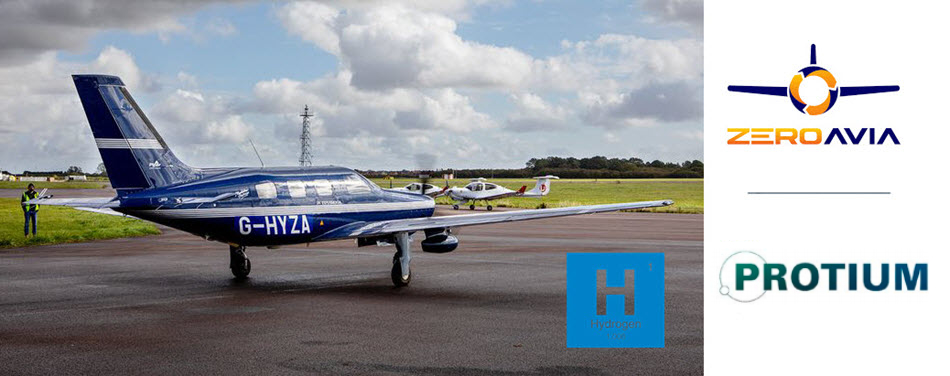 protium secures funding through the future flight challenge to develop a pathway for green hydrogen infrastructure for the worlds first commercial hydrogen flights