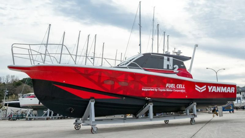 fuelcellsworks, Yanmar Conducts Field Demonstration Test for Maritime Hydrogen Fuel Cell System