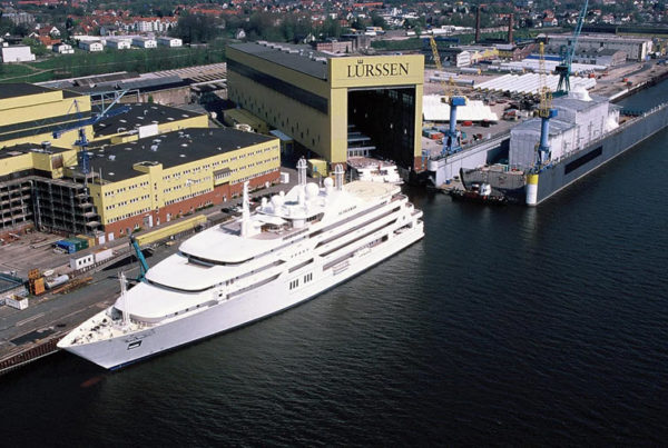 A Superyacht Powered by Fuel Cell Technology Has Been Sold by Lurssen