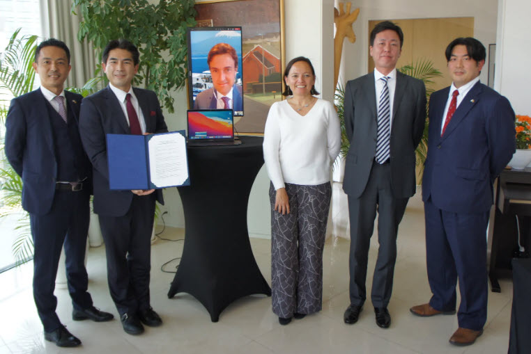 CMB and TSUNEISHI Launch Japanese Hydrogen Joint Venture