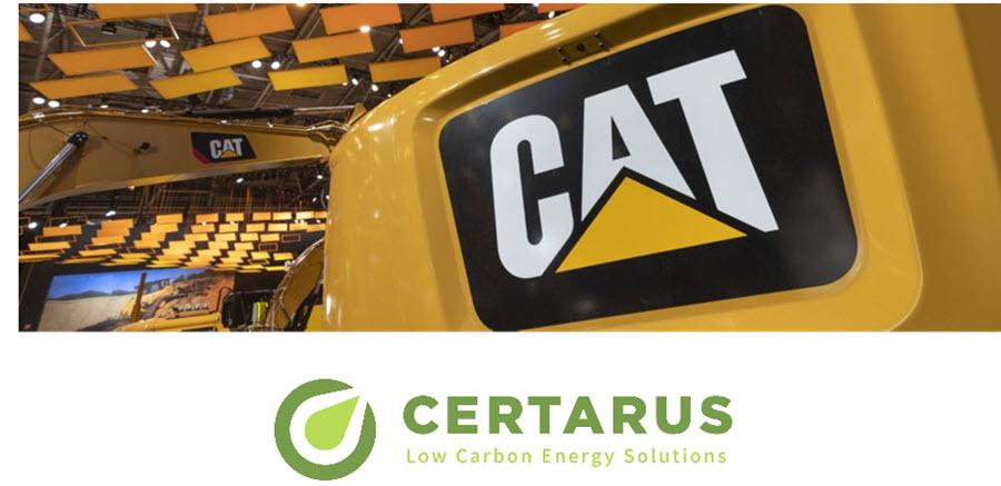 Fuel cells works, hydrogen, Certarus, cat, fuel cells