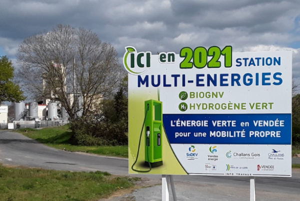 Challans welcomes the sixth BioGNV station in Vendee