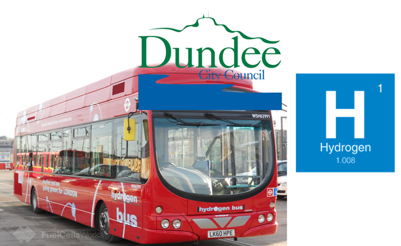 Dundee to Receive Hydrogen Fuel Cell Buses