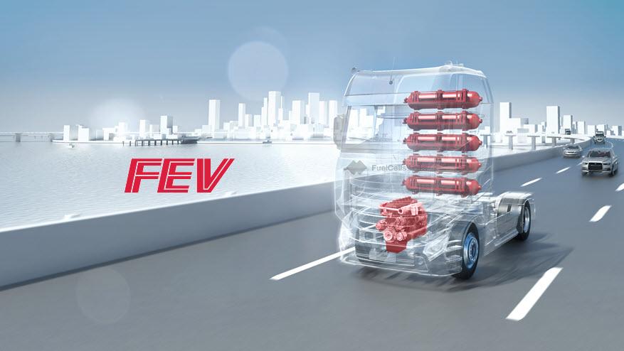 Fuel cells works, hydrogen, FEV, engine, fuel cells