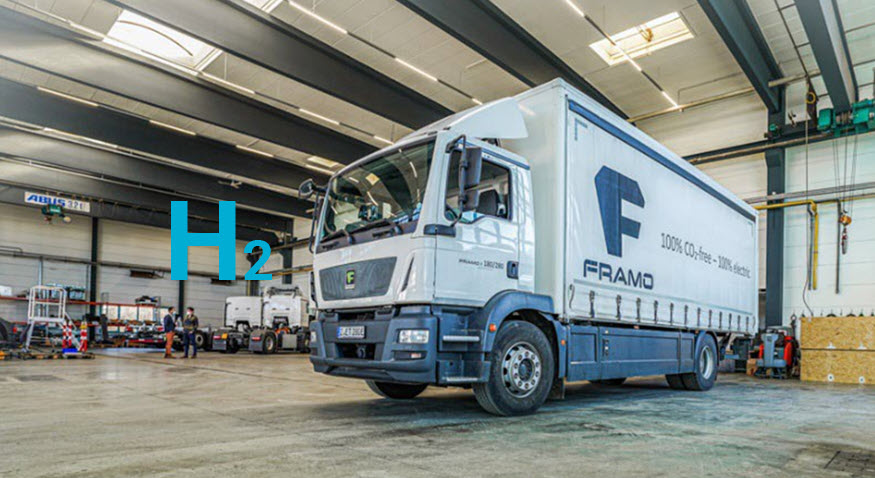 Fuel cells works, Framo GmbH and FES GmbH Will Cooperate on Hydrogen Truck